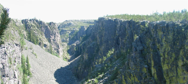Jutulhogget--canyon