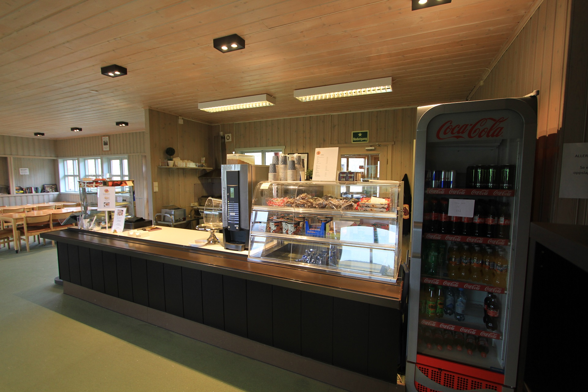 Renåfjellet kafeteria- matservering for hele familien